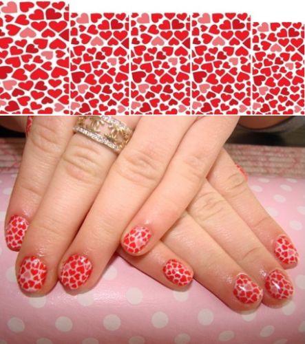 простой дизайн коротких ногтей