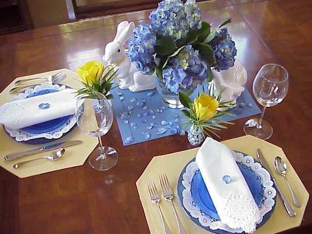 Сервировка стола в домашних 84