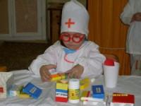 Ребенок боится больницы и врачей