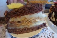 Торт сникерс, рцепт