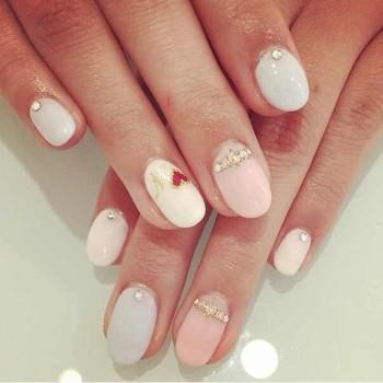 фото свадебные ногти