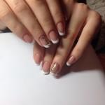маникюр на короткие ногти фото