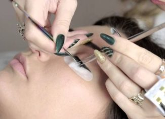 процедура наращивания волосков