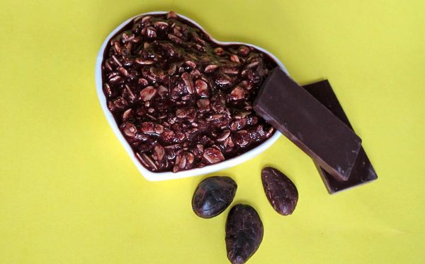скраб из шоколада