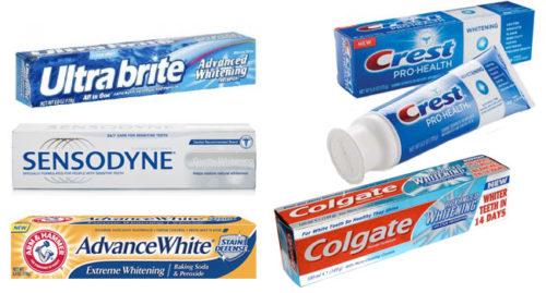 Лучшие отбеливающие зубные пасты — обзор