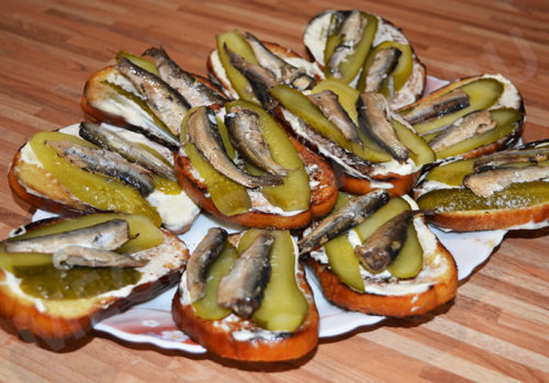 6 самых вкусных бутерброда на праздничный стол!