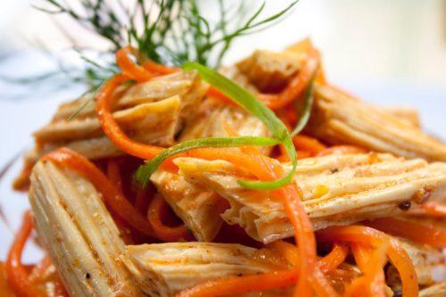 Спаржа по-корейски – просто и вкусно