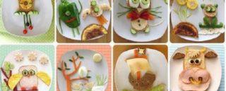 Детские бутерброды - самые оригинальные варианты!