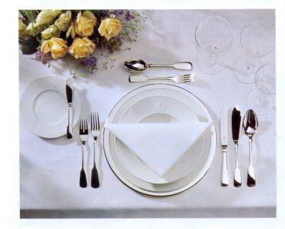 классическая сервировка стола