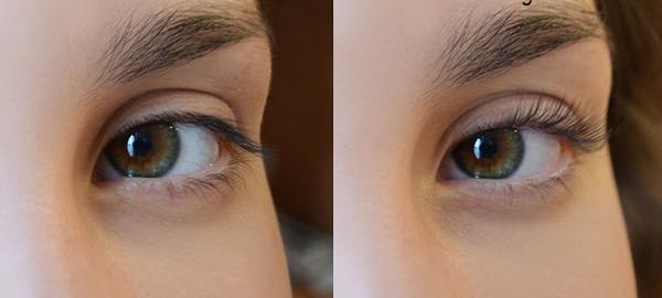 Моделирование ресниц фото до и после 5