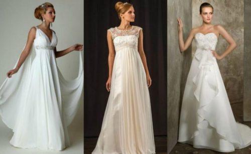 Свадебное платье в стиле Ампир: кому подходит эта модель
