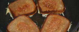Самые вкусный рецепты бутербродов на сковородке!